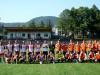 Futbalový zápas - východ vs. západ. 28. júla 2013 . Foto: Michal Vráb