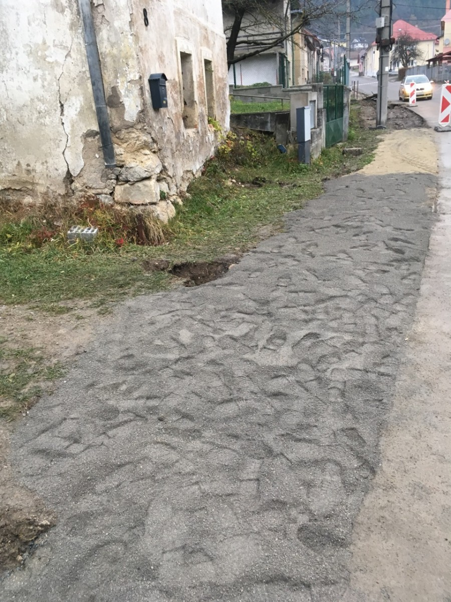 Rekonstrukcia vody v obci