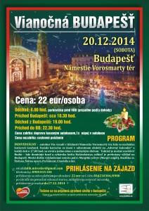 Vianočná Budapešť Naše Podkonice