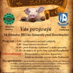 Gazdovská zabíjačka 2015 Podkonice