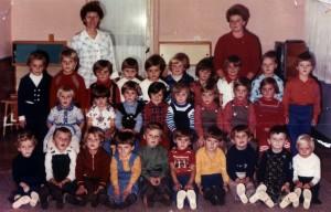Ročníky MŠ: 1976/1977 + 1977/1978 + 1978/1979 (fotené_v_roku_1983)