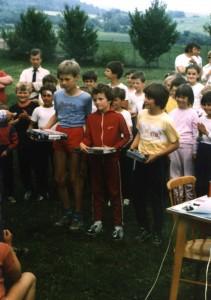Stupeň víťazov - starší žiaci (rok 1988)