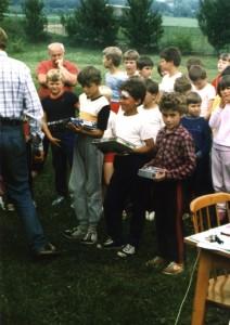 Stupeň víťazov - mladší žiaci (rok 1988)