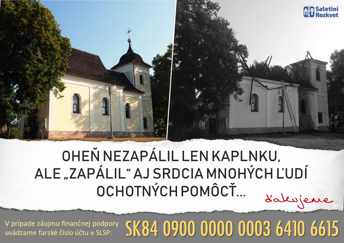 8704e11fe Pomoc pre Saletínov - Naše Podkonice